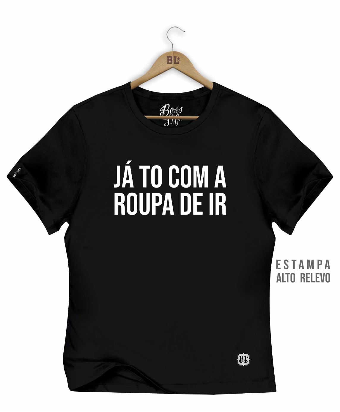 CAMISETA BABY LOOK ROUPA DE IR