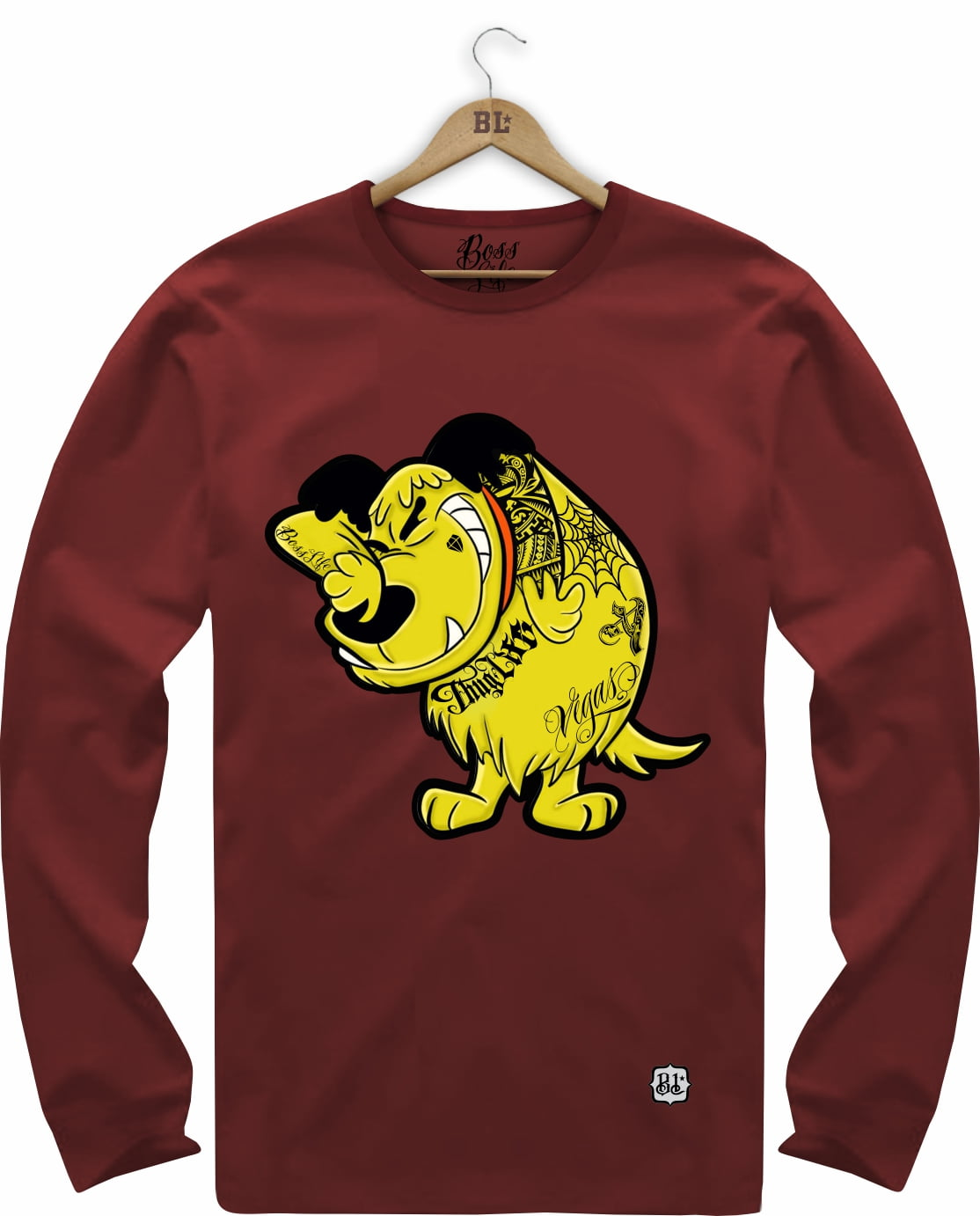 CAMISETA MANGA LONGA MUTTLEY