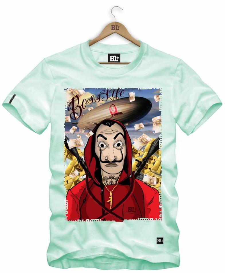 Camiseta La Casa P ao GG4