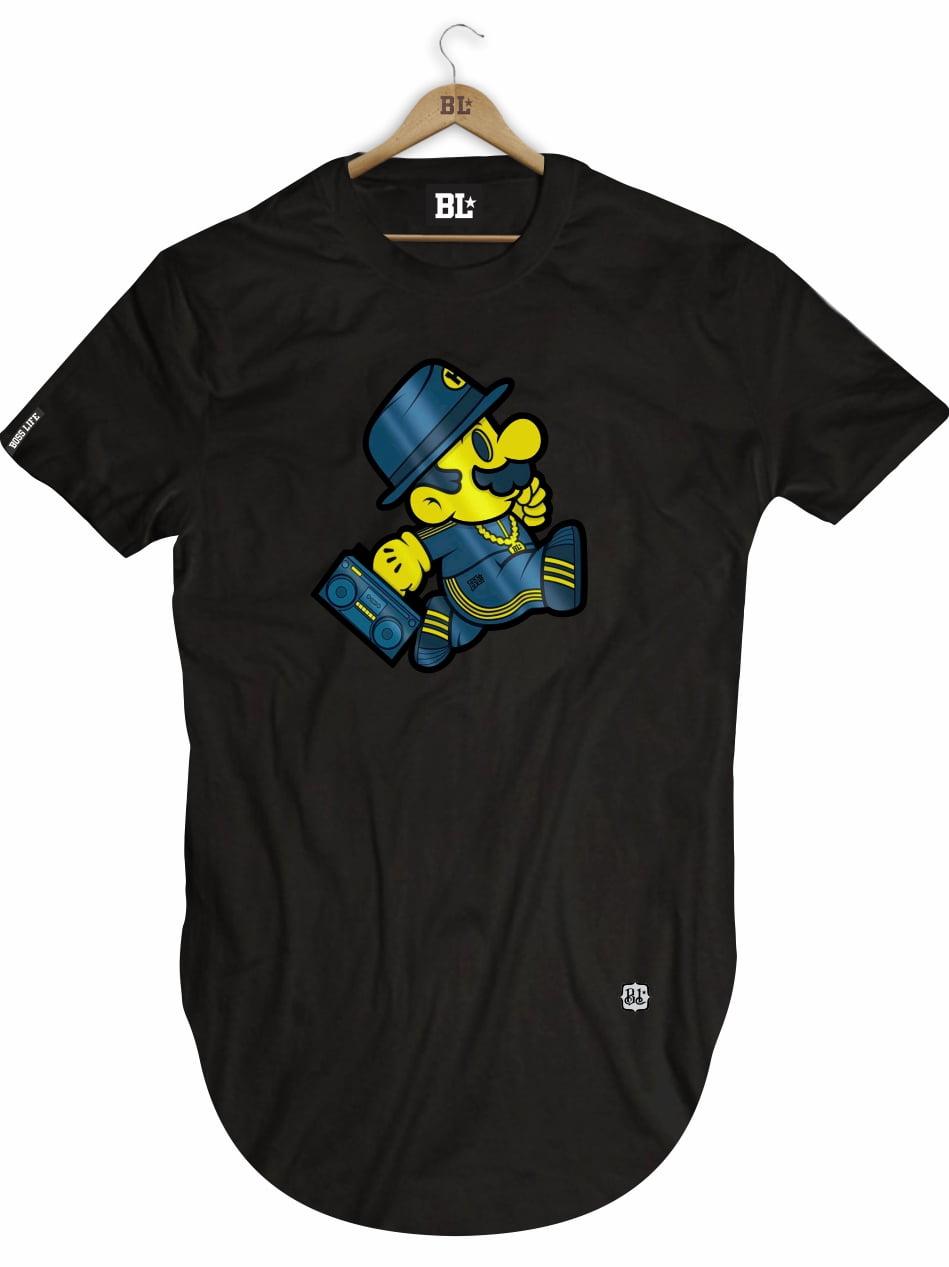 Camiseta Longline Mario