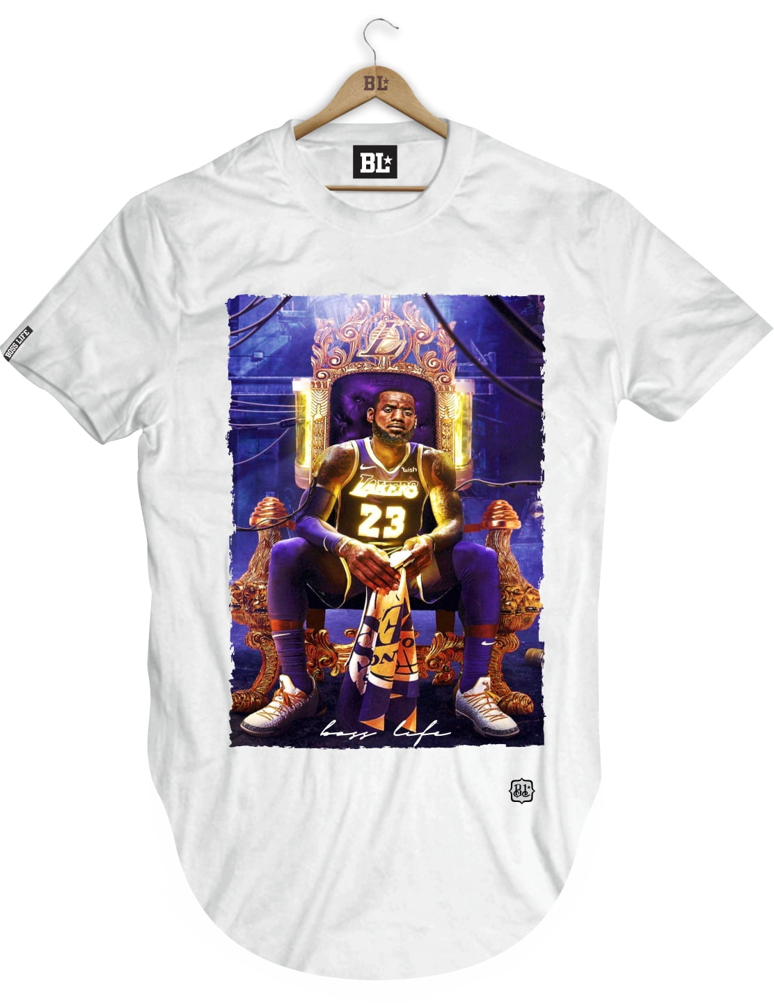 CAMISETA LONGLINE KING JAMES 2
