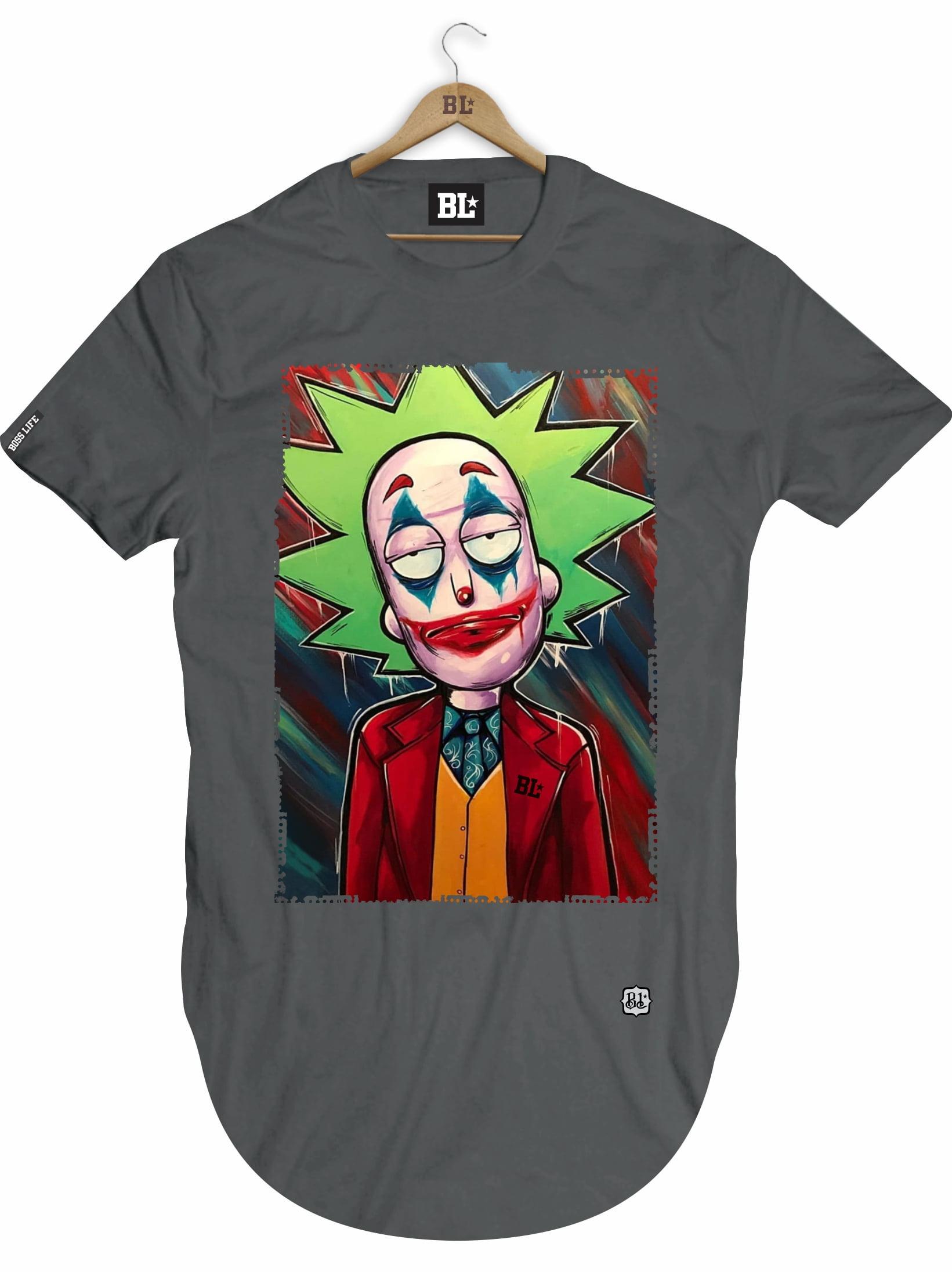 Camiseta Longline Rick Joker