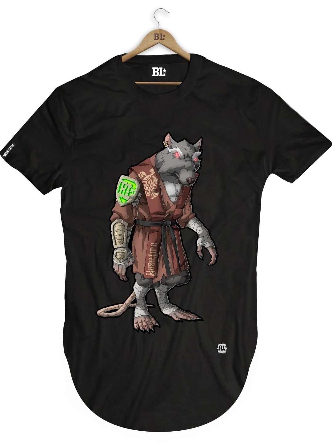 CAMISETA LONGLINE SPLINTER