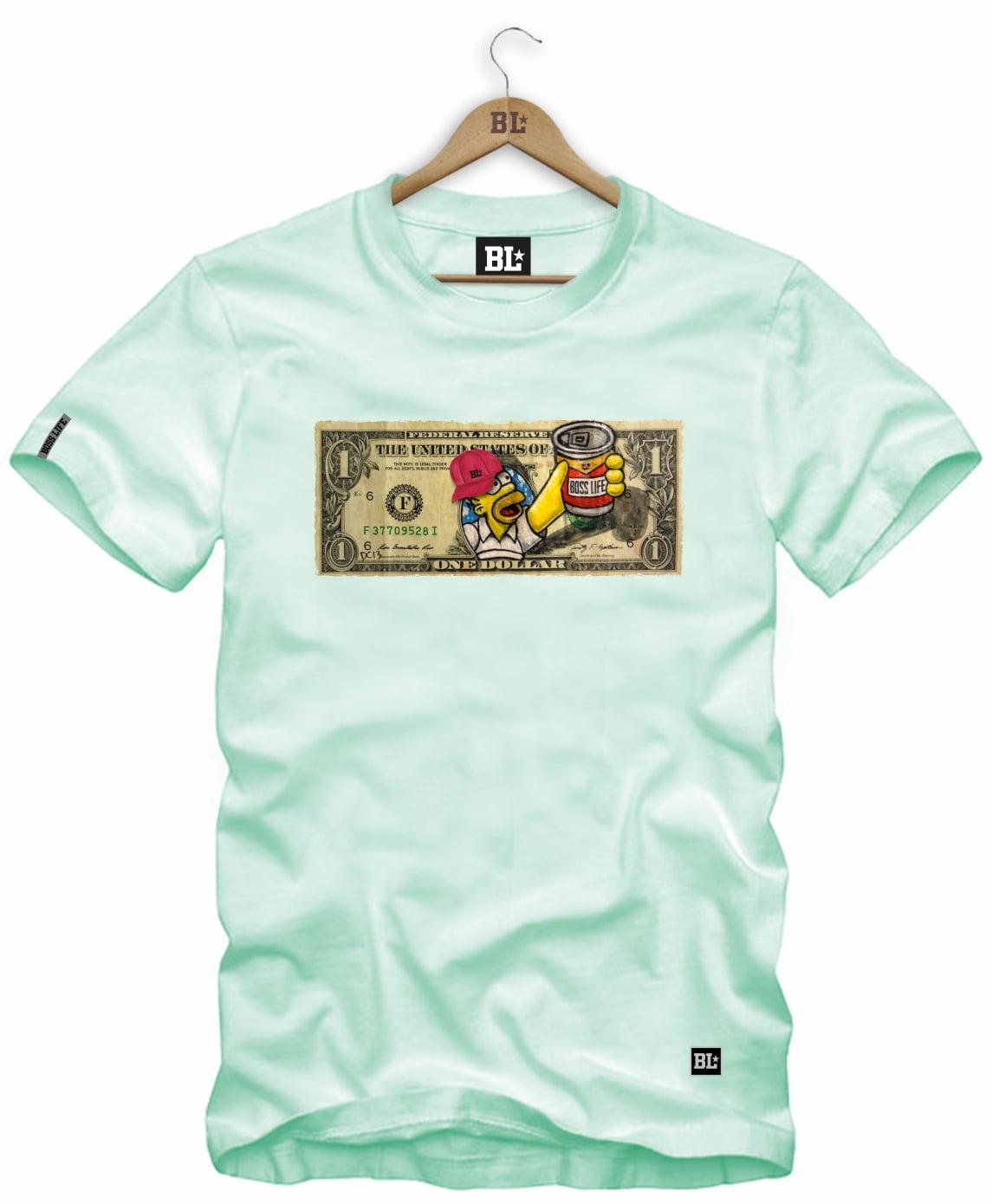 Camiseta Dollar Hommer P ao GG4