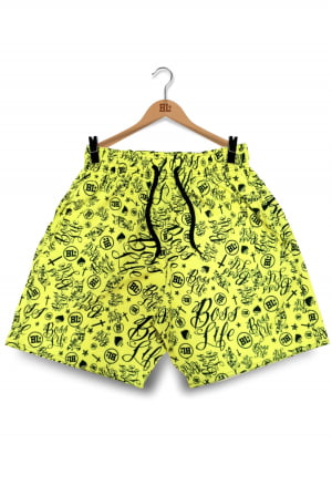 Swim Shorts BL YELLOW