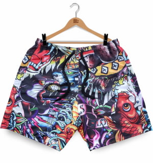 SWIM SHORT TATTOO BL2019