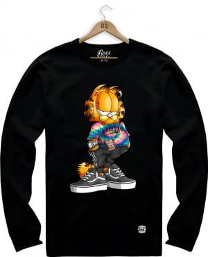 Camiseta Manga Longa Garfield