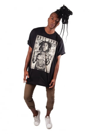 Camiseta B. Marley P ao GG4