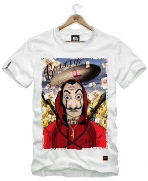 Camiseta Masculina Estampada La Casa NC0036