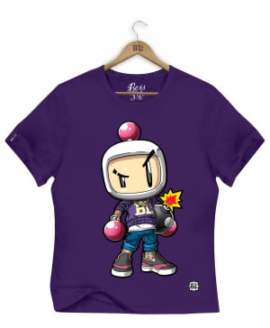 CAMISETA BABY LOOK BOMBERMAN