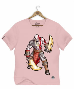 CAMISETA BABY LOOK KRATOS