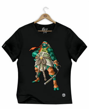 CAMISETA BABY LOOK MICHELANGELO