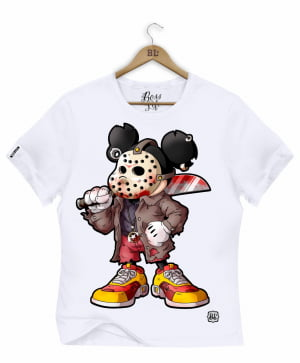 CAMISETA BABY LOOK MICKEY JASON