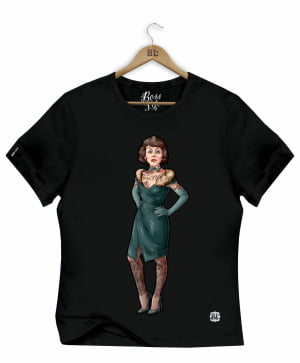 CAMISETA BABY LOOK POLLY