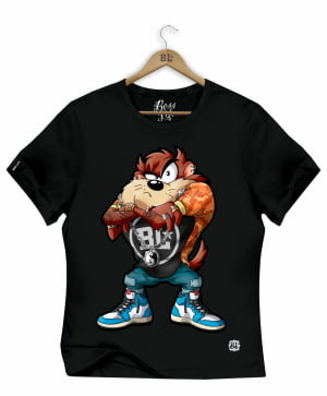 CAMISETA BABY LOOK TAZ