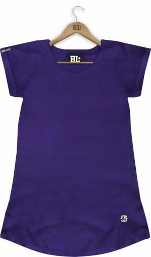 Camiseta Feminina Long Básica