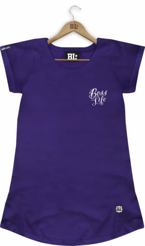 Camiseta Feminina Long Lettering
