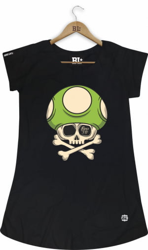 Camiseta Feminina Long Toad Bad