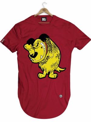 Camiseta Longline Muttley