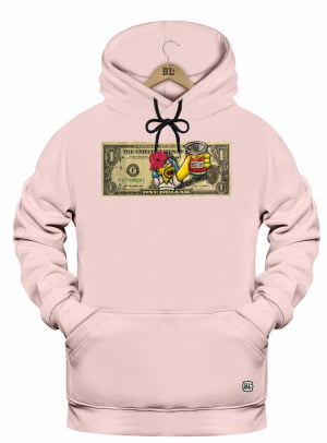 Canguru Moletom Astronauta Homer Dollar