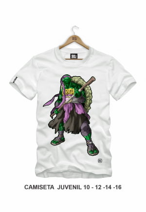 CAMISETA JUVENIL DONATELLO
