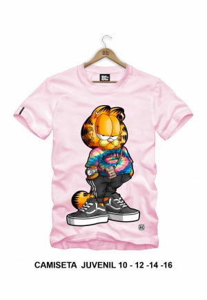 CAMISETA JUVENIL GARFIELD