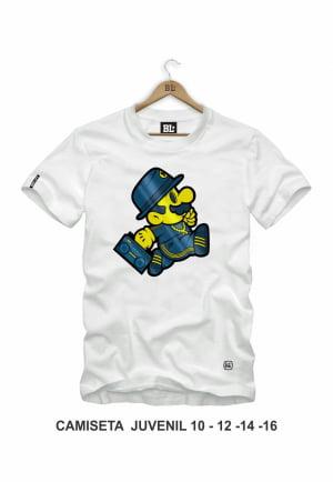 Camiseta Juvenil Mario