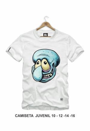 Camiseta Juvenil Molusco