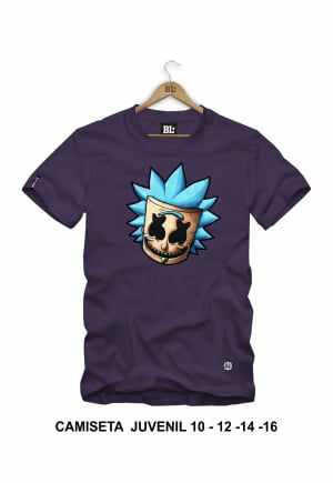 Camiseta Juvenil Rick Face