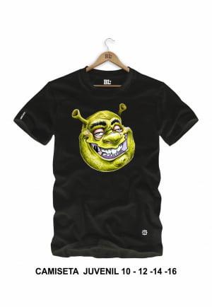 Camiseta Juvenil Shrek