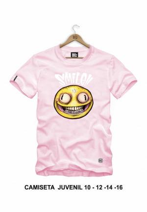 Camiseta Juvenil Smile