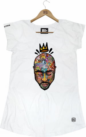 Camiseta Feminina Long 2PAC