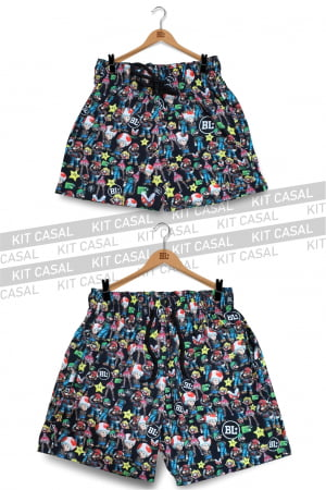 Swim Short Kit Casal Mario