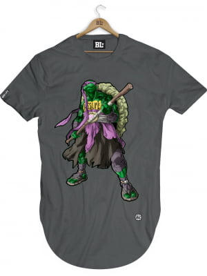 CAMISETA LONGLINE DONATELLO