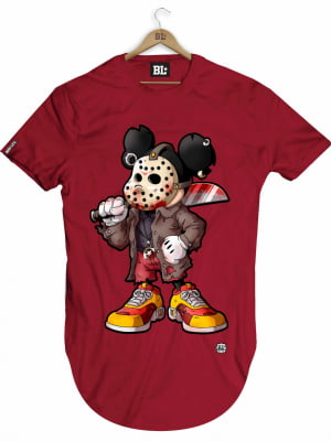 CAMISETA LONGLINE MICKEY JASON