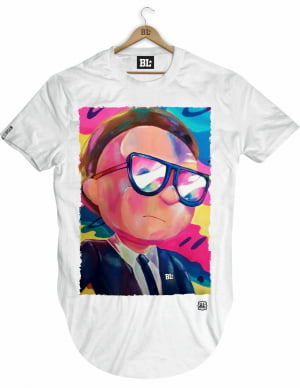CAMISETA LONGLINE MORTY