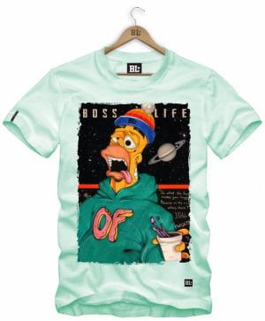Camiseta Masculina Estampada Hommer NC0025