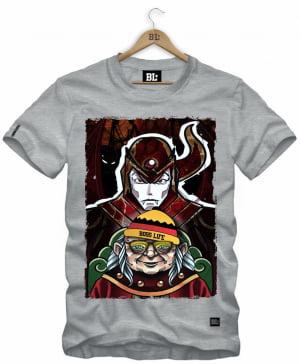 Camiseta Masculina Estampada Caverna NC0043