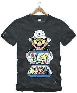 Camiseta Masculina Estampada Mario Boss NC0041